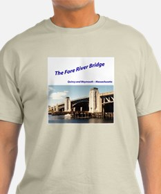 Old Fore River Bridge T-Shirt