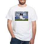 Lilies (#6) & Papillon White T-Shirt