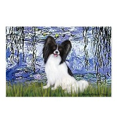 Lilies (#6) & Papillon Postcards (Package of 8)