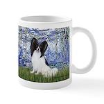 Lilies (#6) & Papillon Mug