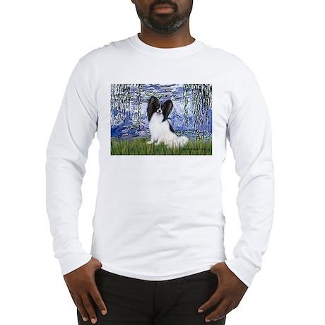 Lilies (#6) & Papillon Long Sleeve T-Shirt
