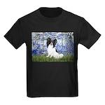 Lilies (#6) & Papillon Kids Dark T-Shirt