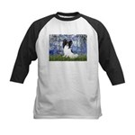Lilies (#6) & Papillon Kids Baseball Jersey