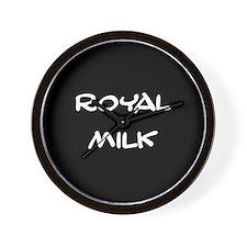 Royal Milk Wall Clock