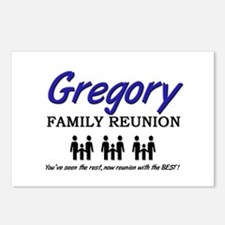 Gregory Family Reunion Postcards (Package of 8)