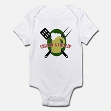 Chillin' & Grillin' Infant Bodysuit