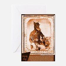 Doberman TWITCH Greeting Cards (Pk of 10)