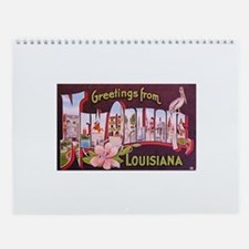 Christmas in New Orleans Wall Calendar