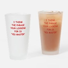 master Drinking Glass