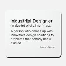 Industrial Designer Mousepad