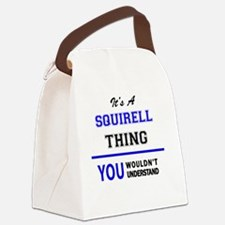 Unique Squirell Canvas Lunch Bag