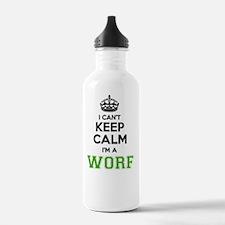 Cute Worf Water Bottle