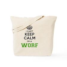 Unique Worf Tote Bag