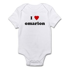 I Love omarion Infant Bodysuit