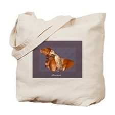 Dog and Ferret Tote Bag