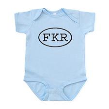 FKR Oval Infant Bodysuit