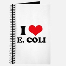 I Love Heart E. Coli Journal