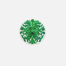 Green Man Gaze Mini Button