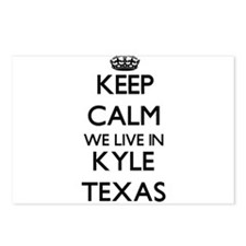 Keep calm we live in Kyle Postcards (Package of 8)