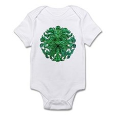 Green Man Gaze Infant Bodysuit
