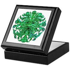 Green Man Gaze Keepsake Box