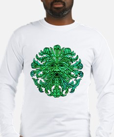 Green Man Gaze Long Sleeve T-Shirt