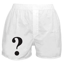 Question Mark Boxer Shorts