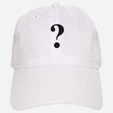 Question Mark Baseball Baseball Cap