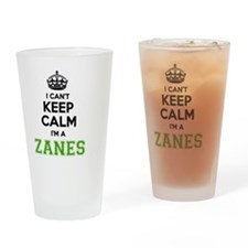 Funny Zane Drinking Glass