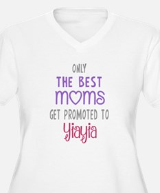 Best Moms to Yiayia Plus Size T-Shirt