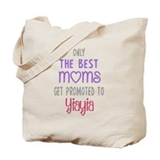 Best Moms to Yiayia Tote Bag