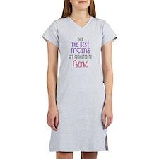 Best Moms to Nana Women's Nightshirt