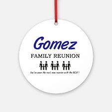 Gomez Family Reunion Ornament (Round)