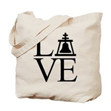 Love Riverside Tote Bag