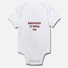 happiness is being Ivy Infant Bodysuit