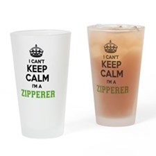 Cool Zipper Drinking Glass