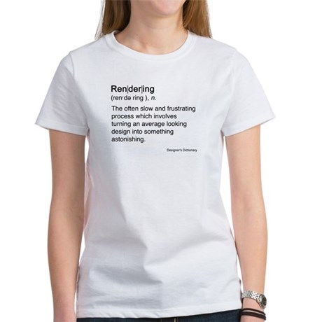 Rendering Women's T-Shirt