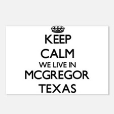 Keep calm we live in Mcgr Postcards (Package of 8)
