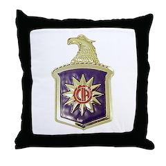C.I.A. Throw Pillow