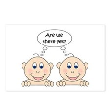 Are we there yet? Twins Postcards (Package of 8)