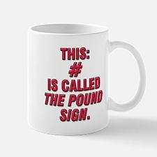 the pound Mug