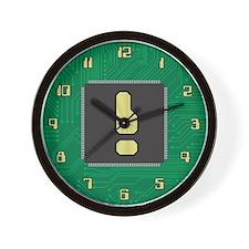 CIRCUIT BOARD ! Wall Clock