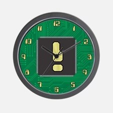 CIRCUIT BOARD ! Wall Clock