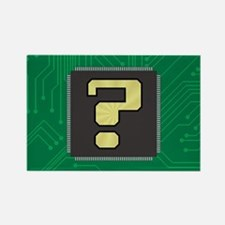 CIRCUIT BOARD ? Rectangle Magnet