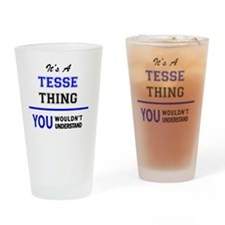 Unique Tess Drinking Glass