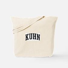 KUHN (curve-black) Tote Bag