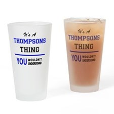 Cool Thompson Drinking Glass