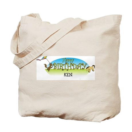 Happy B-Day Ken (farm) Tote Bag