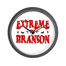 Extreme Branson Wall Clock