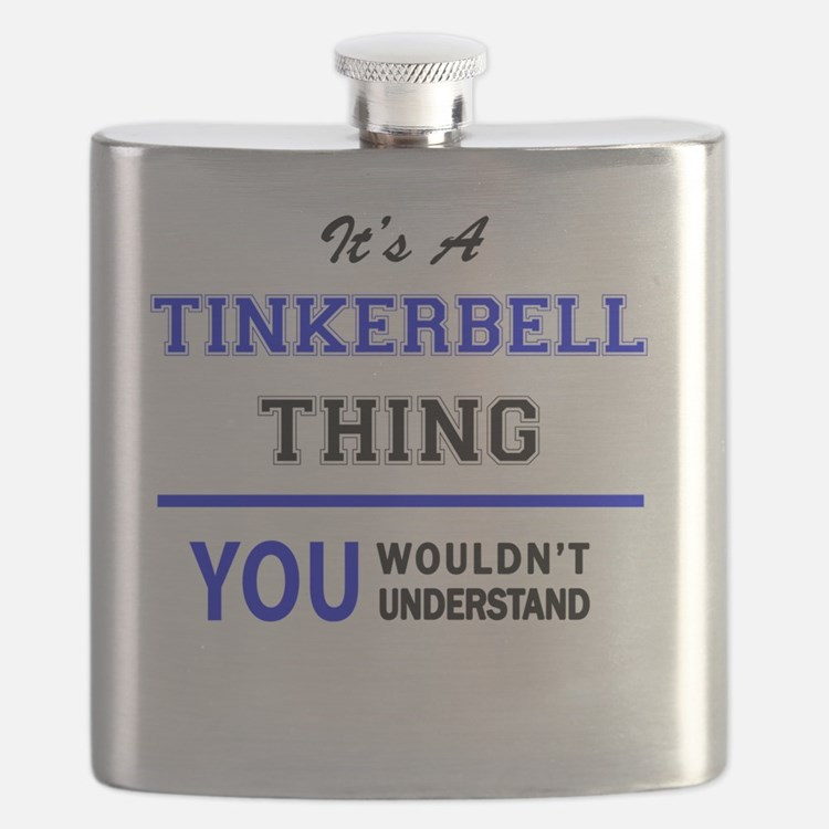 Cute Tinkerbell Flask